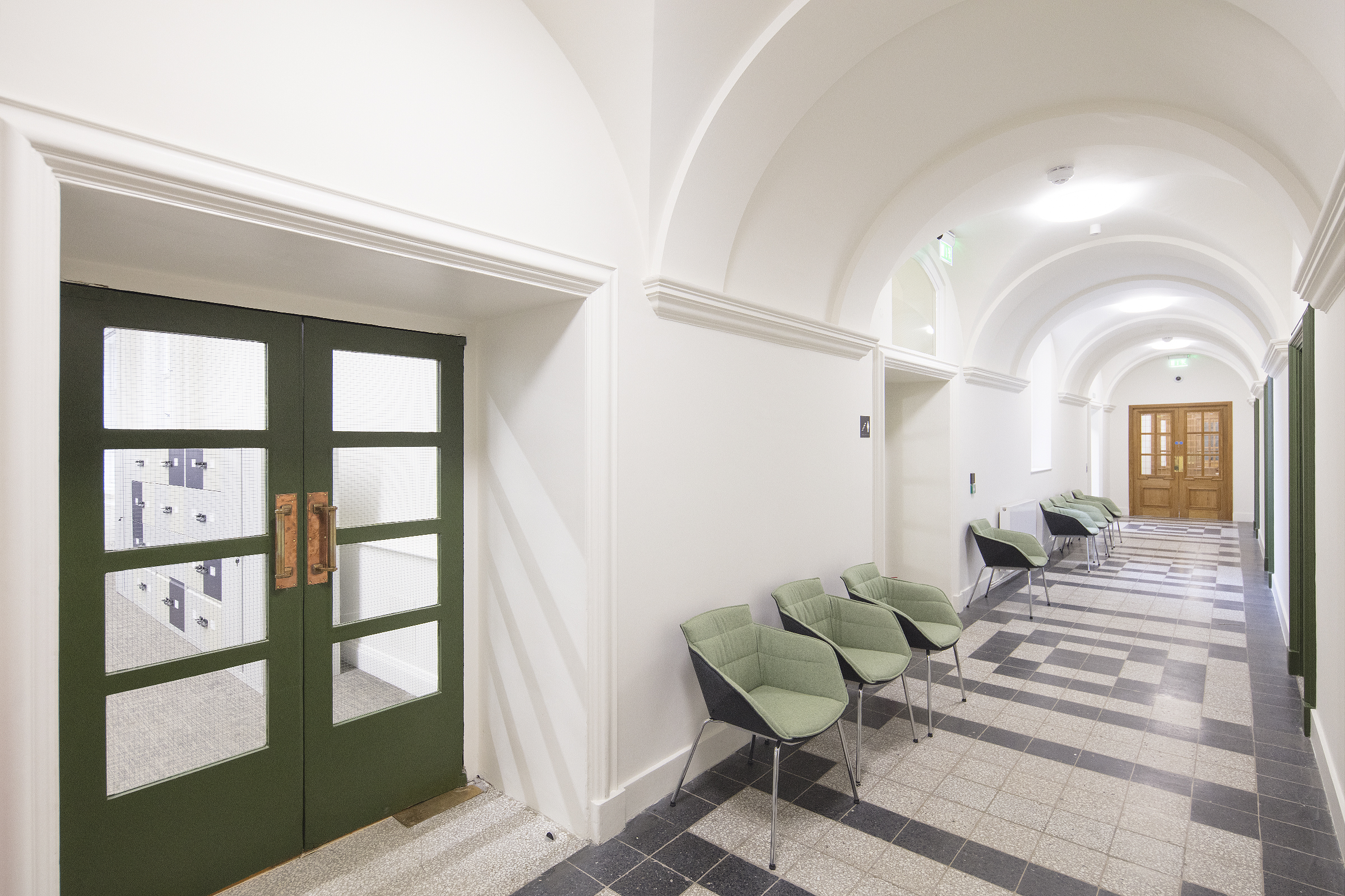 lambeth town hall hallways