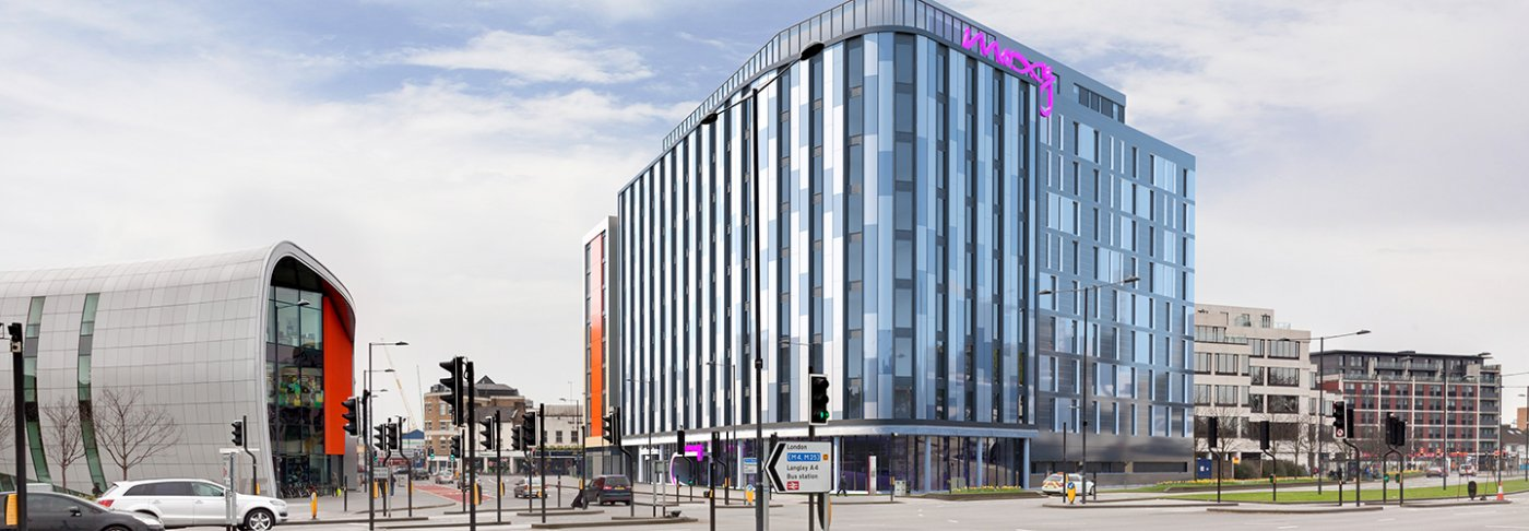 Investments Slough Moxy hotel